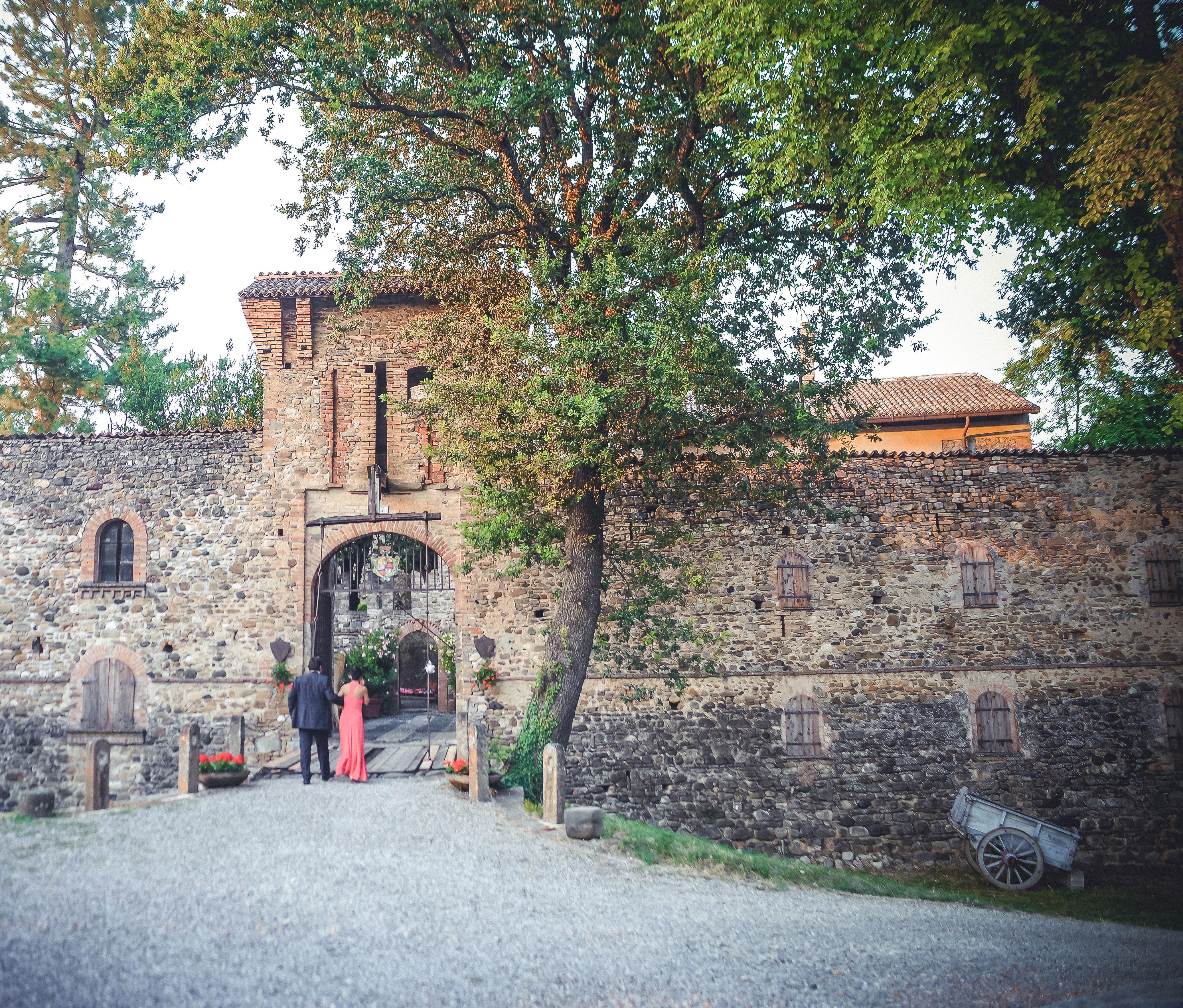 Entrata castello di Torrano